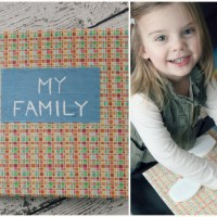Flip-Top Family Board Book