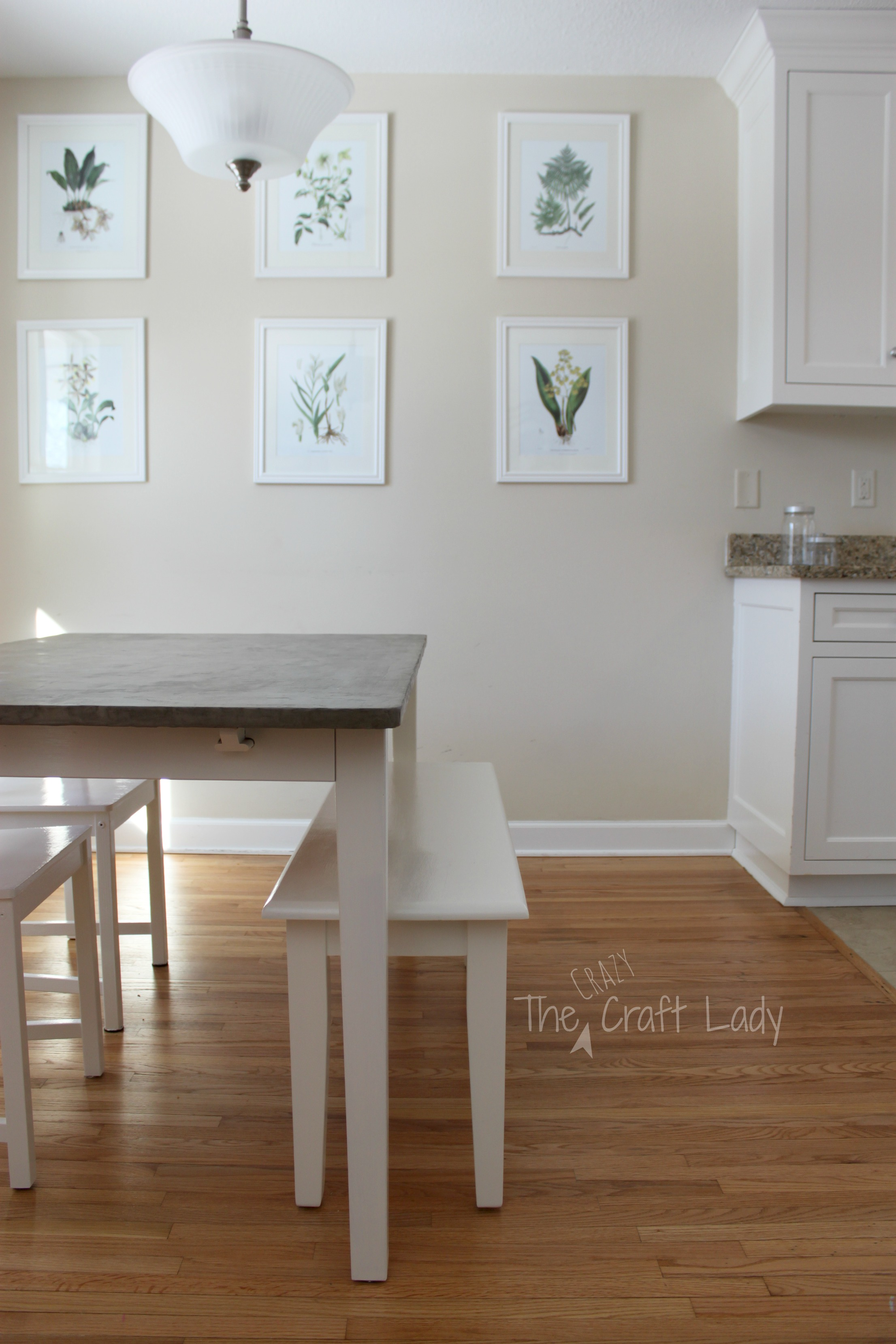 Building A Dining Room Table With Leaves Diy Concrete Dining Table Top And Dining Set Makeover