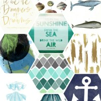 Free Summer Printables for Your Gallery Walls