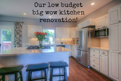 Our Low Budget Big Wow Kitchen Makeover - The Created Home