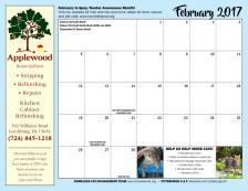 Calendar page.