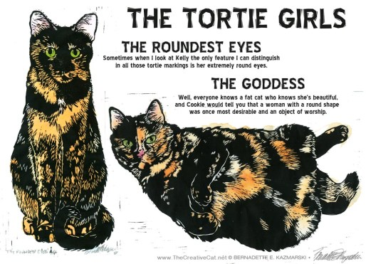 The Tortie Girls!