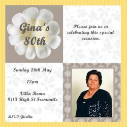 Small Crop Of 80th Birthday Invitations