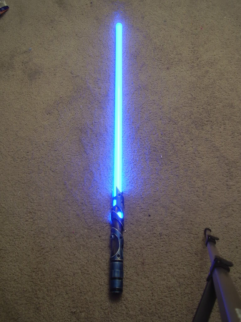 How I Build A Pvc Lightsaber The Creative Side Of The Force