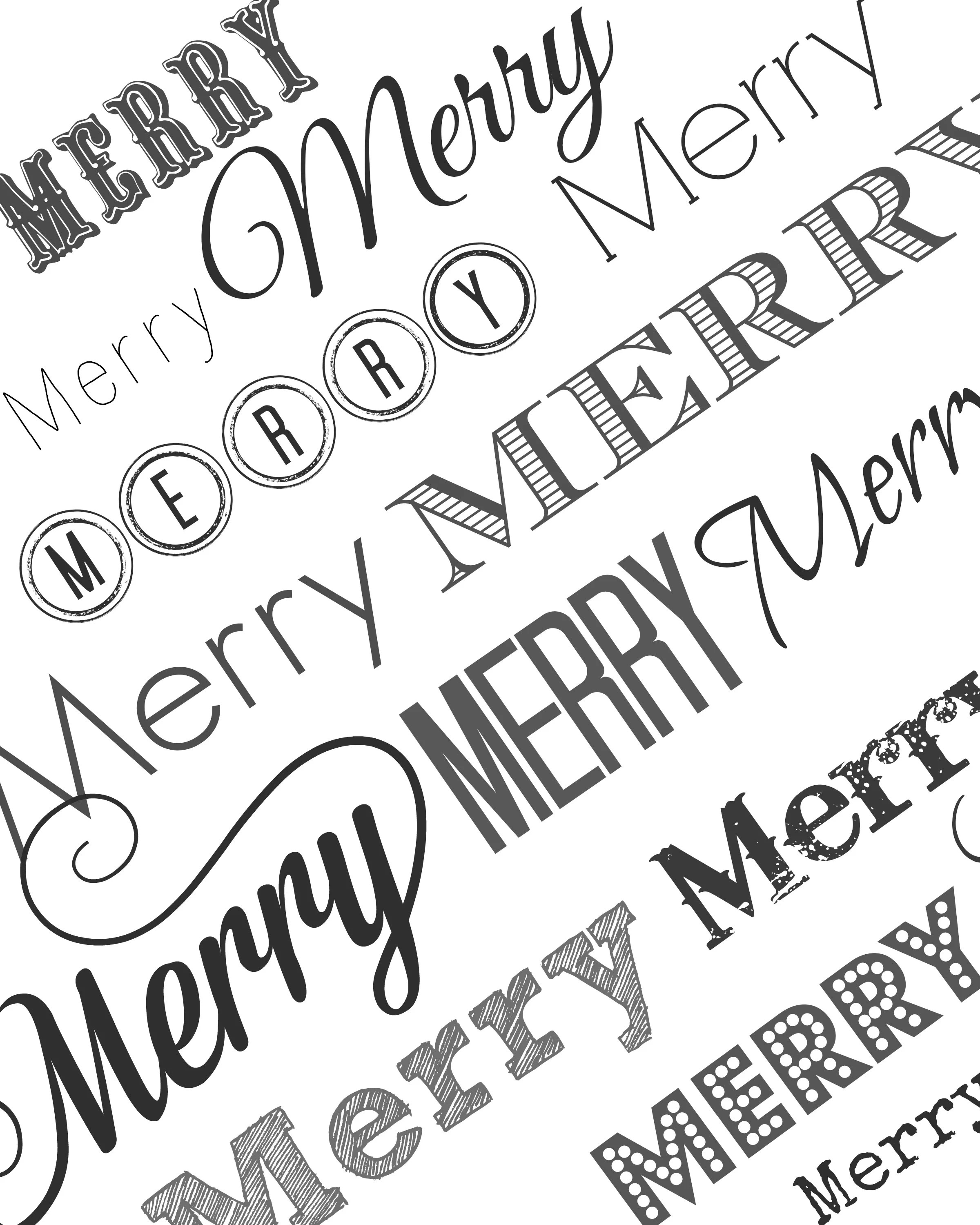 Black And White Wrapping Paper Free Printable Holiday Tags Wrapping Paper And Sign