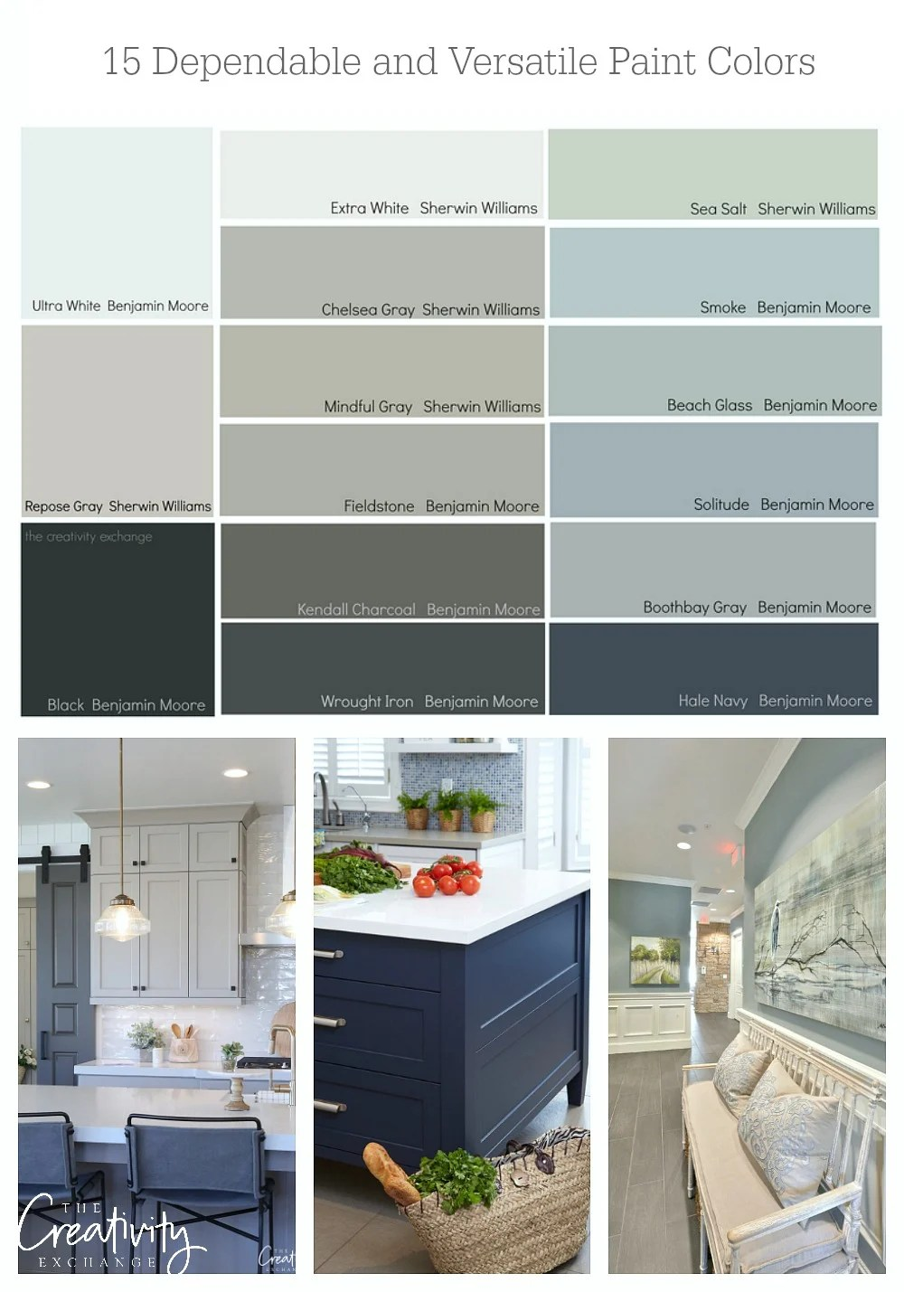 Benjamin Moore Bedroom Colors 15 Of The Most Versatile And Dependable Paint Colors All Star List