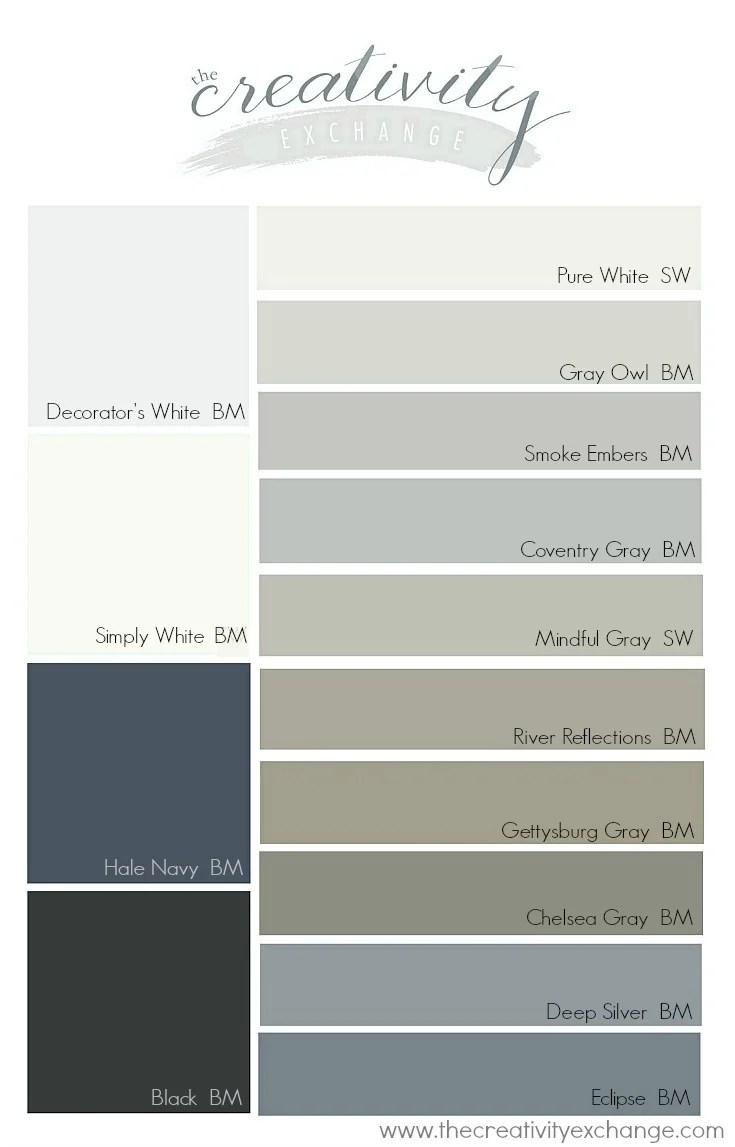 Kitchen Cabinets Painted Grey Most Popular Cabinet Paint Colors