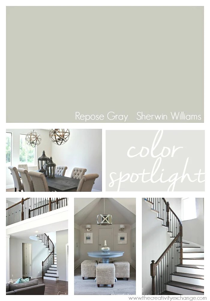 Colonial Kitchen Color Ideas With Dark Cabinets Repose Gray From Sherwin Williams: Color Spotlight