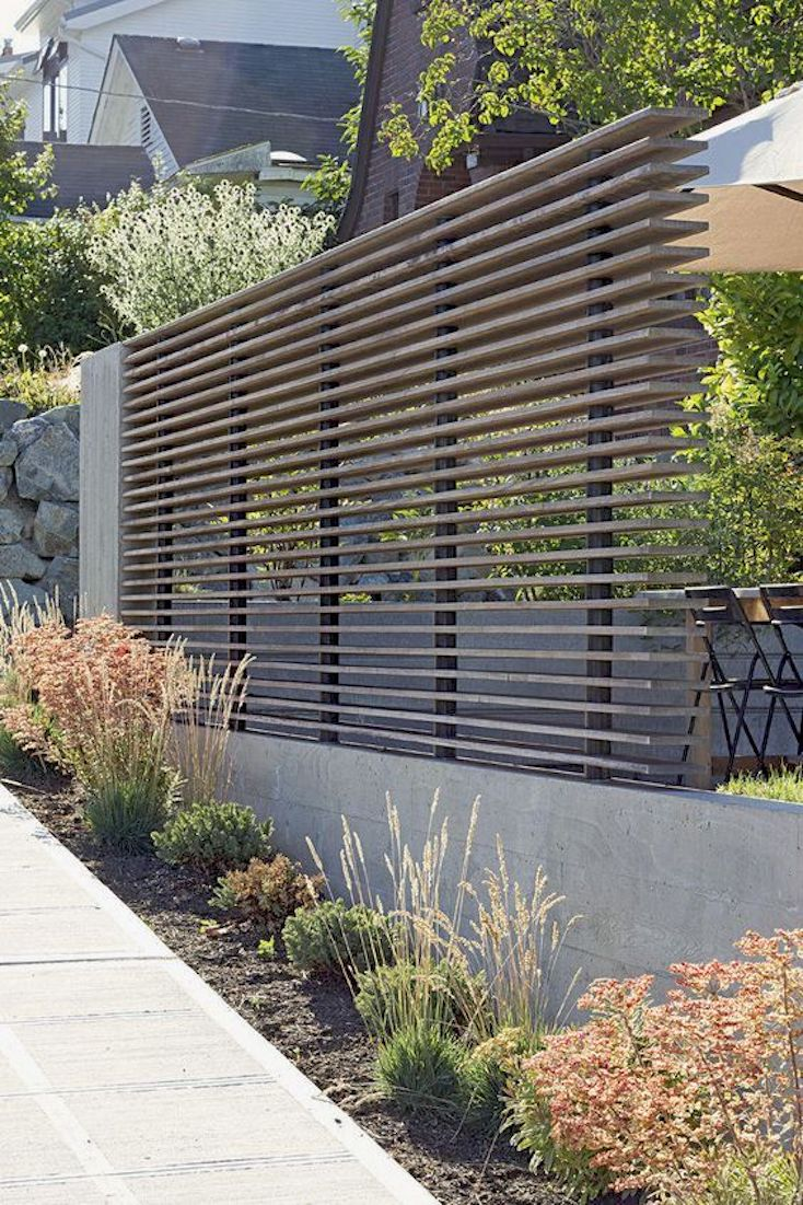 Modern Farmhouse Fence Beautiful Modern Fence Design Ideas