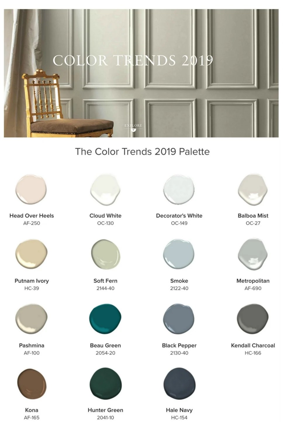 Metropolitan Benjamin Moore 2019 Benjamin Moore Color Of The Year