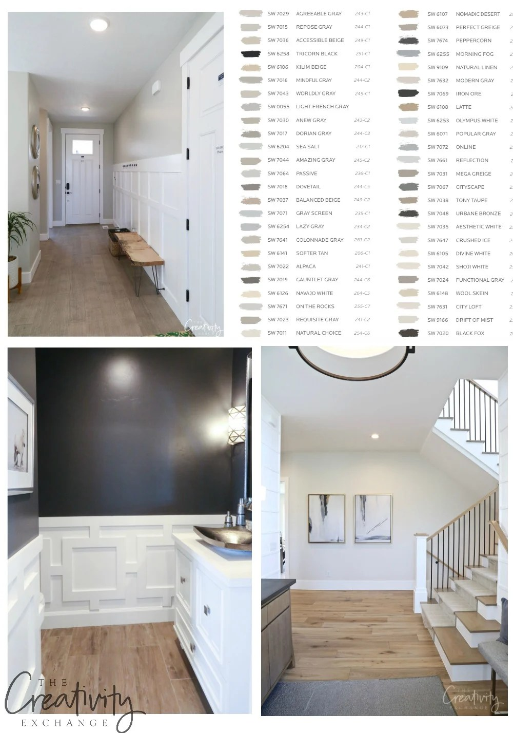 50 Most Popular And Bestselling Sherwin Williams Paint Colors