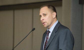 Prof. William Terrill. Photo courtesy Michigan State University