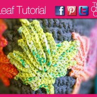 Crochet Maple Leaf + Video Tutorial