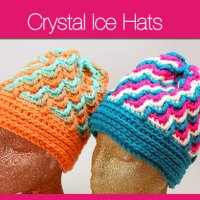 Crystal Ice Hats: 8 of 30 Days of Hats