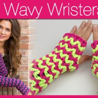 Wavy Long Wristers + Video Tutorial