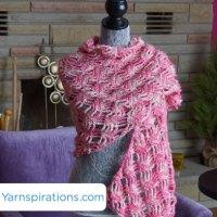 Lattice Lace Wrap + Tutorial