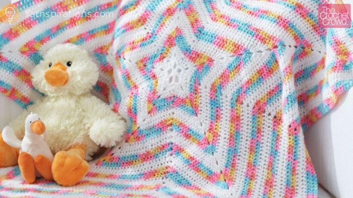 Pics Photos - Crochet Star Afghan The Crochet Crowd