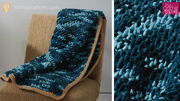 Knitting Pattern For Honeycomb Blanket : Afghan Patterns Archives - Page 10 of 20 - The Crochet Crowd