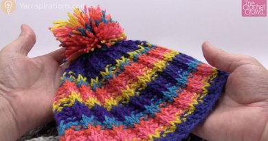 Tunisian Rib Stitch Hat + Tutorial