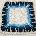 Crochet Icy Window Afghan