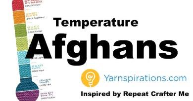 Crochet Temperature Afghan + Tutorials