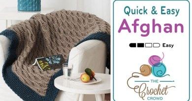 Crochet Easy Afghan Pattern