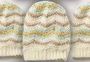 Crochet Zig Zag Hat