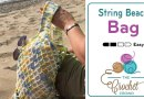 Crochet Beach Bag + Tutorial