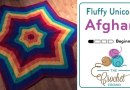 Crochet Fluffy Unicorn Afghan + Tutorial