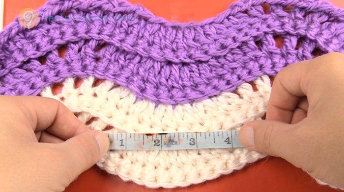 How to Find Crochet Gauge Crochet Hook Gauge Changing
