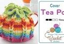 Crochet Tea Pot Cover + Tutorial