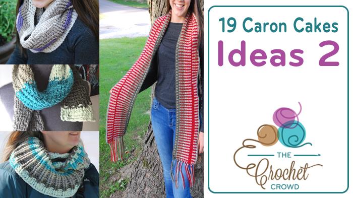 Crochet Caron Cakes Ideas