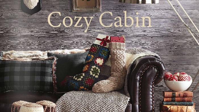 Cozy Cabin Lookbook by Yarnspirations