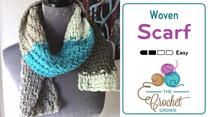 Woven Scarf by Mikey