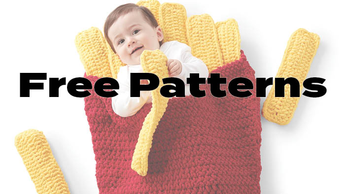 Free Crochet Patterns  Crochet Tutorials The Crochet Crowd
