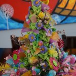 Spring / Easter Crochet Topiary Tree