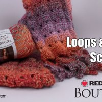 Loops & Fringe Crochet Scarf