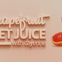 Grapefruit Beet Juice with Cayenne