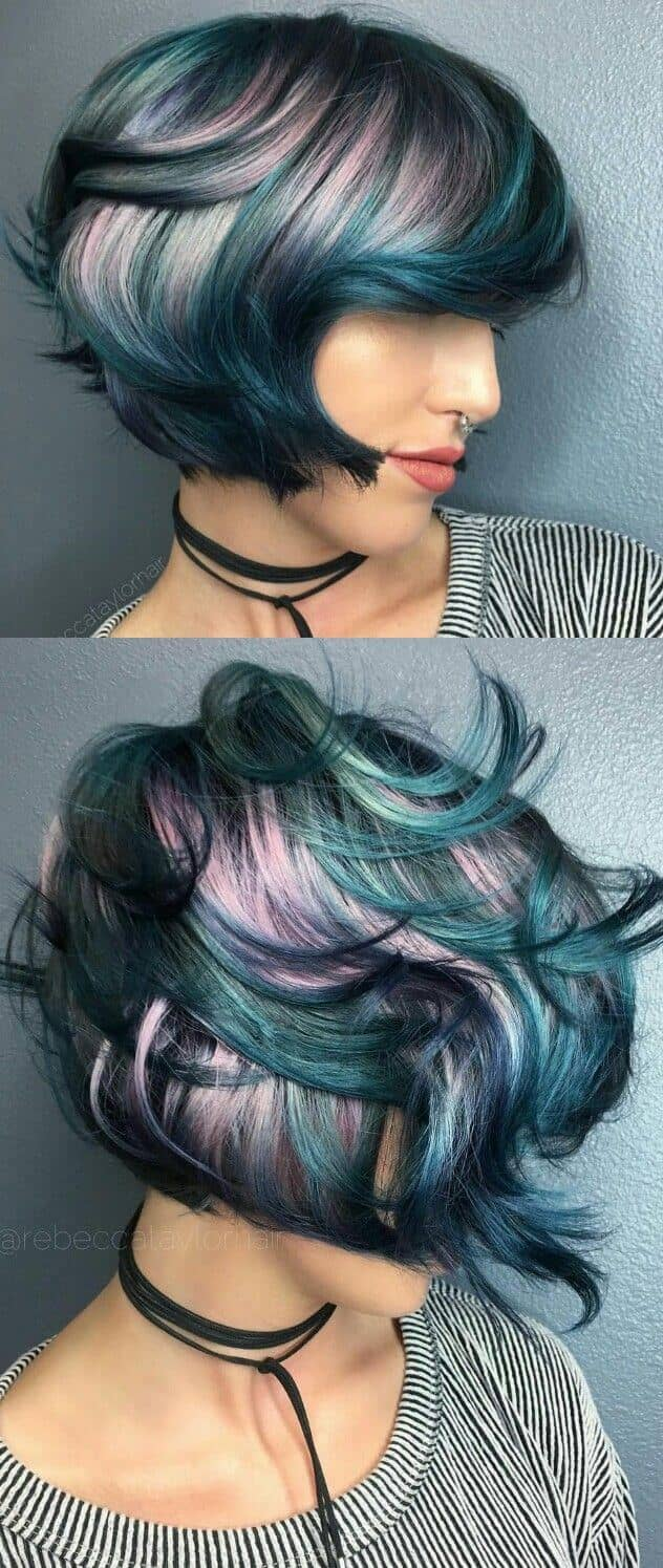 I.pinimg.com 50 Stunningly Styled Unicorn Hair Color Ideas To Stand Out From