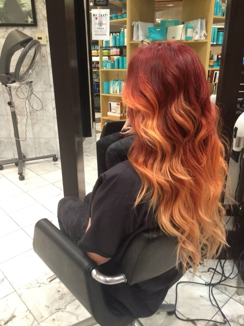 I.pinimg.com The 27 Hottest Red Ombre Hairstyles