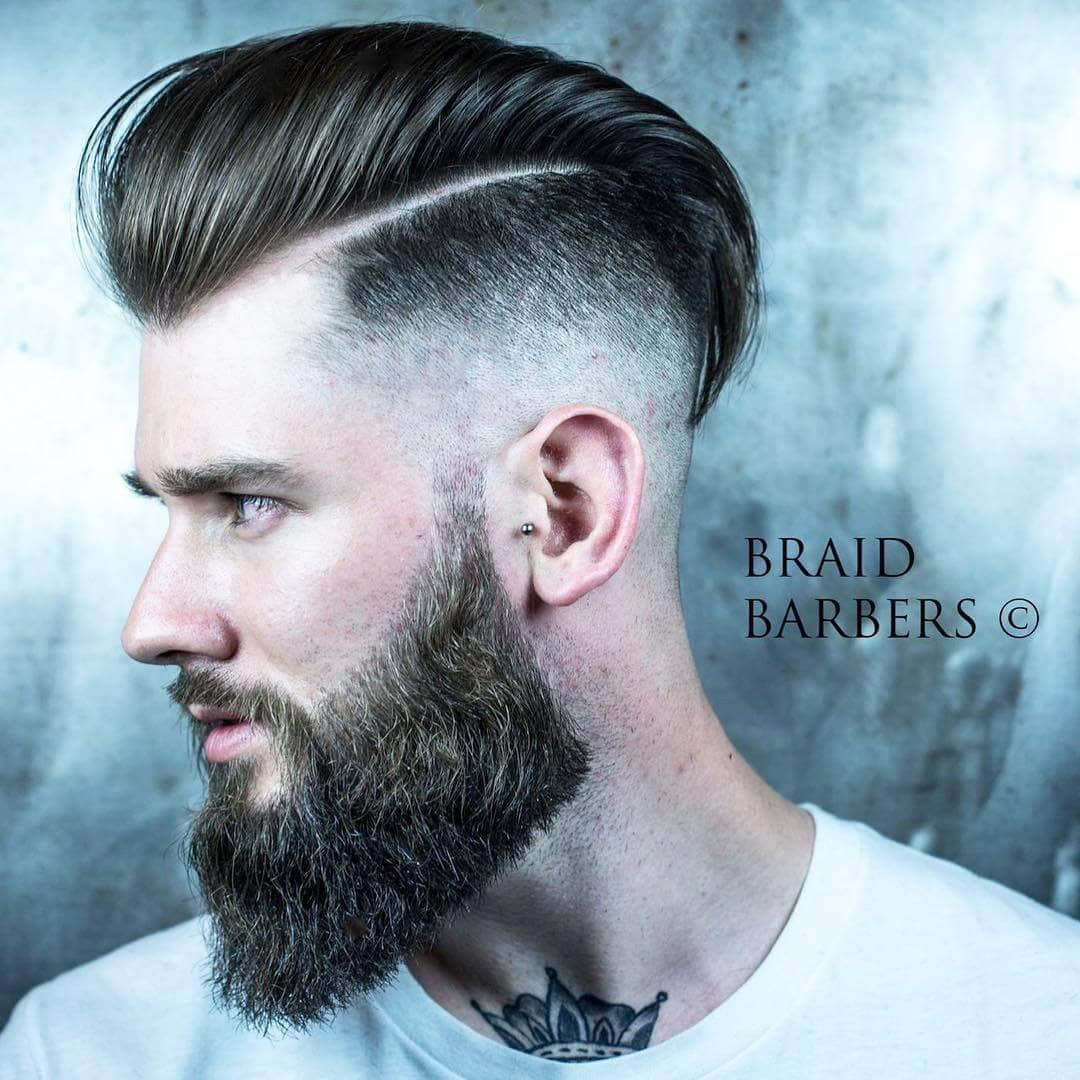 Sidecut Mann 50 Trendy Undercut Hair Ideas For Men To Try Out
