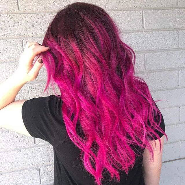 Coloured Hair Roots 50 Best Pink Hair Styles To Pep Up Your Look In 2019