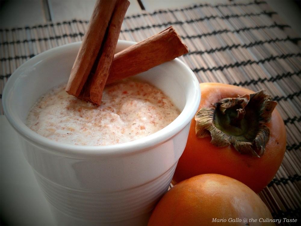 Vanilla Persimmon Mousse (2/3)
