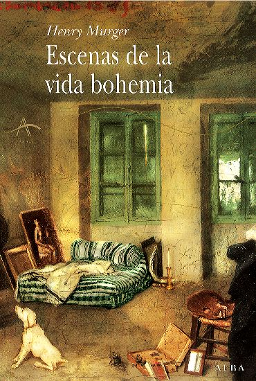 Escenas de la vida bohemia. Henry Murger. Obra de la portada. Mi habitación de Octave Tassaert