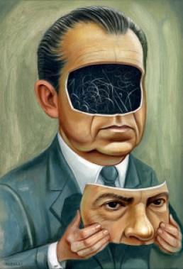 Portrait of Nixon