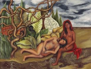 Dos desnudos en el bosque Frida Kahlo 1939