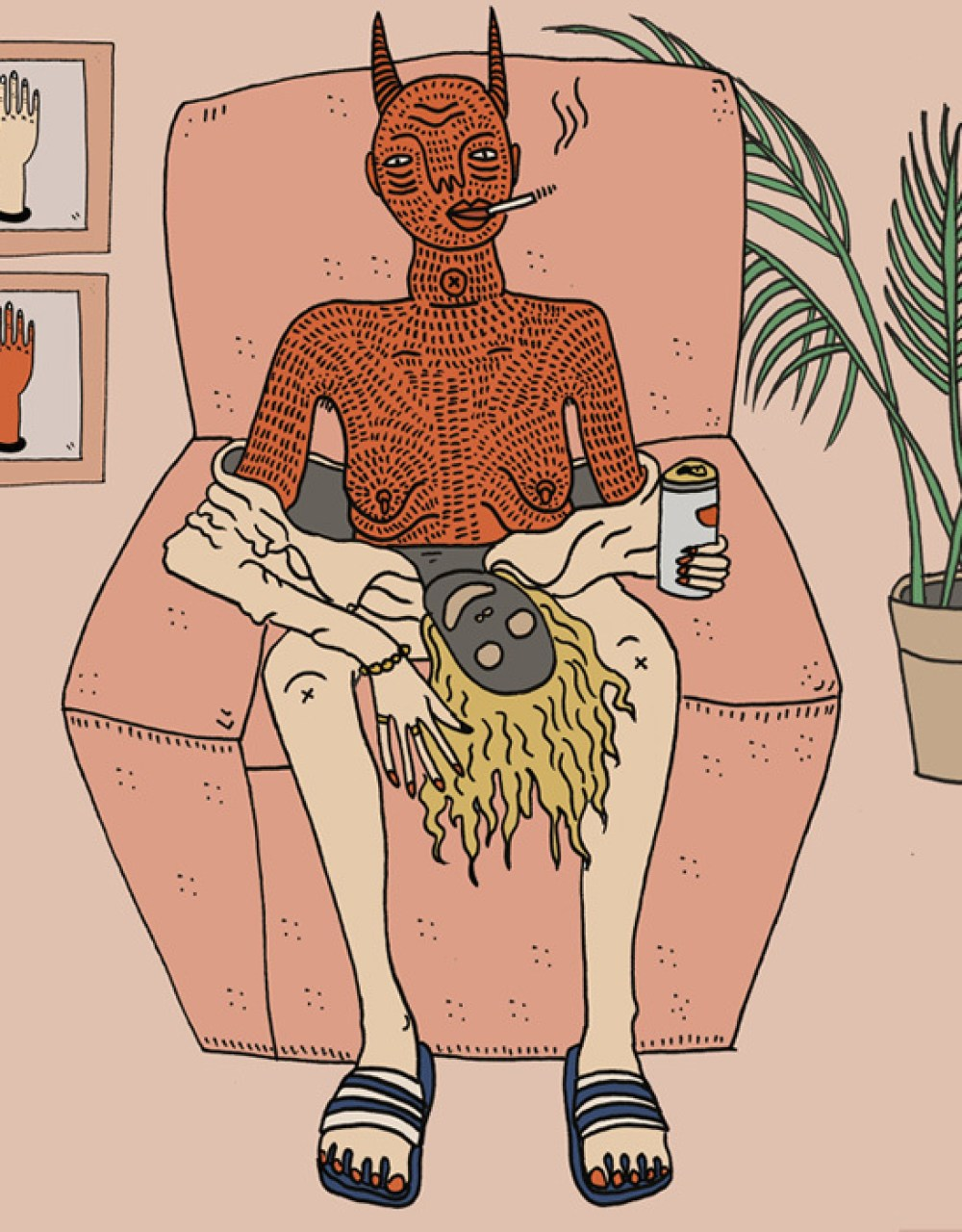 Cba 2 Pretend No More – Illustration by Polly Nor