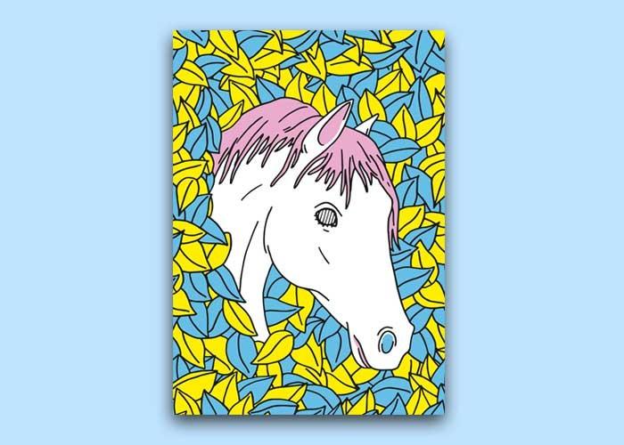 Caballo Blanco, por Sanz i Vila (Easy Horse)