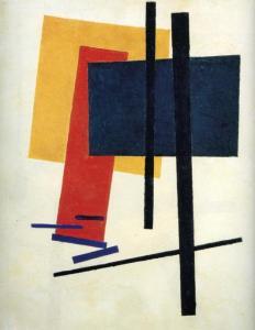 Kazimir Malevich, Dynamic Suprematism 1915