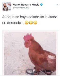 Manel Navarro Via Twitter
